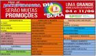 Lojas que estão participando do DIA D.