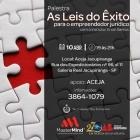 PALESTRA DA LEIS DO  ÊXITO